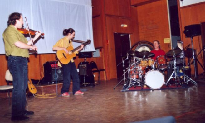 Le tout premier concert à Angoulême