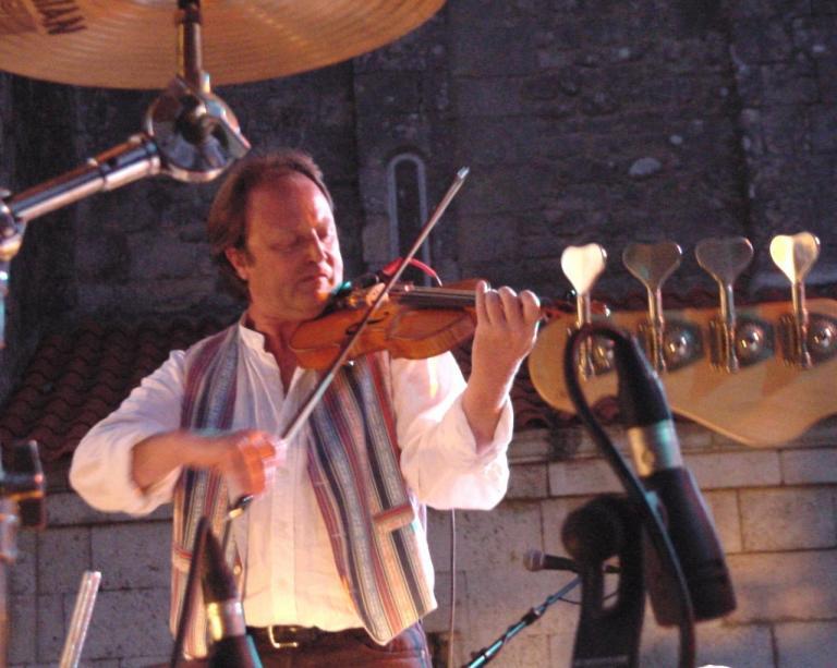 "Patrick, festival ""village sessions"" 2007"