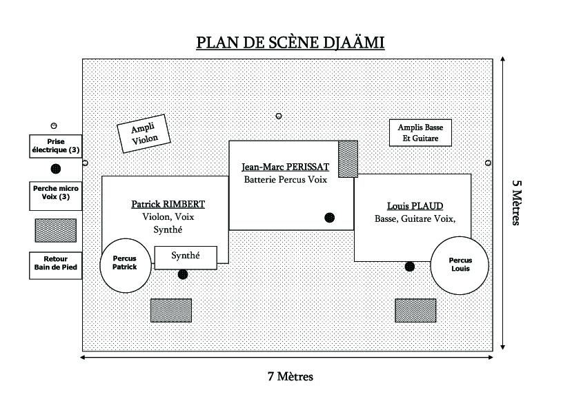 Plan de scene djaami 2016